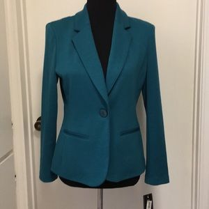 New blazer with tag attached